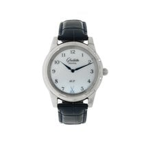 Glashütte Original Senator Meissen White gold 38mm White Arabic numerals