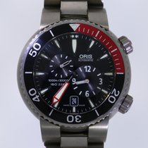 Oris Titanium Automatic Black No numerals 44mm pre-owned Divers