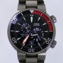 Oris Divers Titanium 44mm Black No numerals