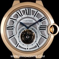 Cartier 18k R/G Ballon Bleu Flying Tourbillon B&P W6920001