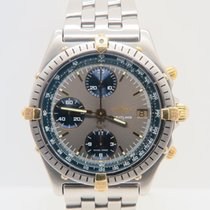 Breitling Chronomat 18k Gold Steel Brushed Case
