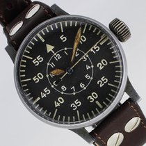 Laco 55mm Manual winding 1944 pre-owned Black