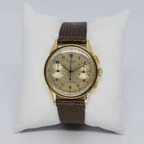 Universal Genève Yellow gold Manual winding Compax pre-owned