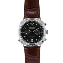 Panerai Radiomir Rattrapante Steel 44mm Black Arabic numerals United States of America, New York, New York