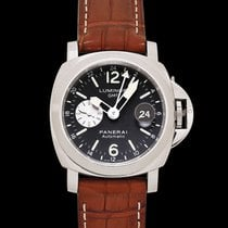 Panerai Luminor GMT Automatic pre-owned Steel