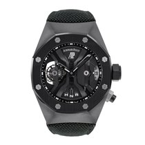 Audemars Piguet Titanium Manual winding Black No numerals 44mm pre-owned Royal Oak Concept