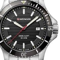 Wenger Steel 43mm Quartz 01.0641.118 new