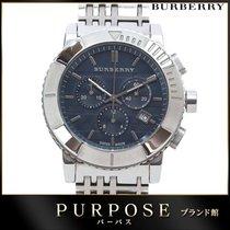 Burberry Chronograaf 43mm Quartz tweedehands Blauw