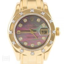 Rolex Lady-Datejust Pearlmaster Gelbgold 29mm