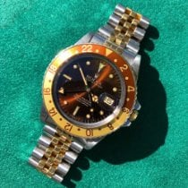 Rolex 40mm Automatic 1981 pre-owned GMT-Master