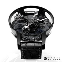 Jacob & Co. Astronomia Keramika 50mm Crn Rimski brojevi