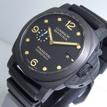 Panerai PAM00661 Carbon 2016 Luminor Marina 1950 3 Days Automatic 44mm pre-owned United States of America, California, Los Angeles