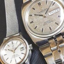 Omega Constellation Steel 36mm Silver No numerals
