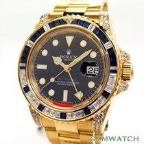 Rolex 116758SA Geelgoud GMT-Master II 40mm tweedehands