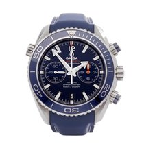 Omega Seamaster Planet Ocean Chronograph Steel 45mm Blue