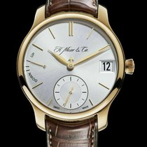 H.Moser & Cie. new Manual winding Display Back Small Seconds Power Reserve Display 40.8mm Sapphire Glass