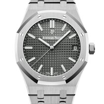 Audemars Piguet Royal Oak Сталь 41mm Cерый Без цифр