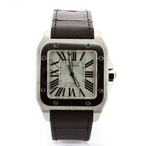 Cartier Santos 100 new 2019 Automatic Watch with original box and original papers 100 W20073X8