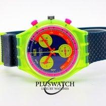 Swatch Plástico 37mm Quartzo SCJ101 novo