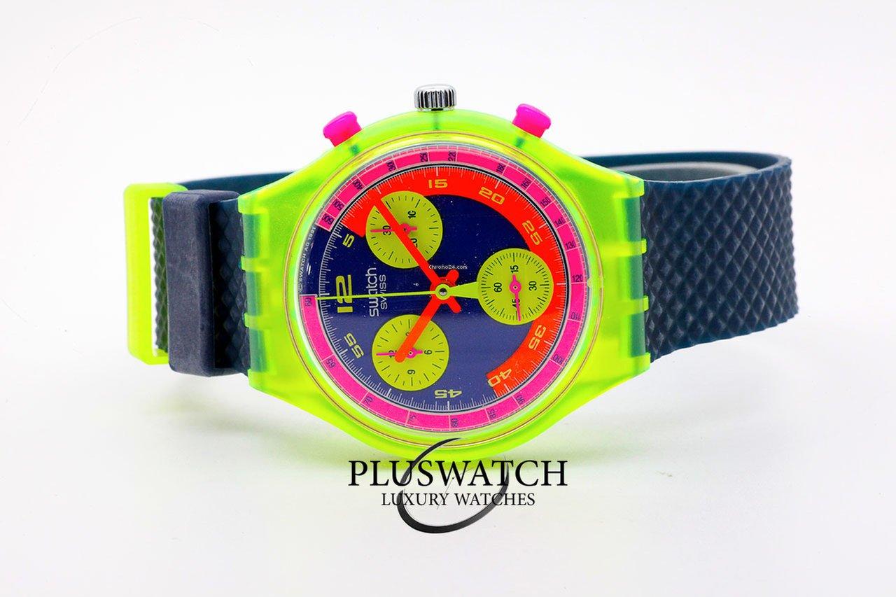 comprare popolare 12566 33cc8 Swatch Grand Prix 37 mm Chronograph SCJ101