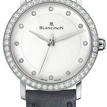 Blancpain 6102-4628-95A Stahl Villeret Ultraflach 29mm neu