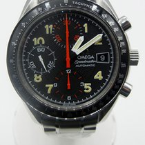 Omega Speedmaster Date Steel 39mm Black Arabic numerals