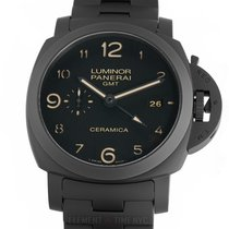 Panerai Luminor 1950 3 Days GMT Automatic Keramik 44mm Sort