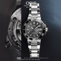 Oris Steel Automatic Grey 45.5mm pre-owned Hammerhead Limited Edition