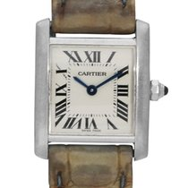 Cartier Tank Française White gold 20mm