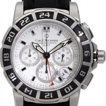 Carl F. Bucherer Steel 42mm Automatic 00.10618.13.23.01 pre-owned