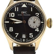 IWC Big Pilot Rose gold 46mm Brown United States of America, Illinois, BUFFALO GROVE