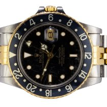 Rolex GMT-Master Gold/Steel 40,00mm Black No numerals