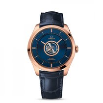 Omega De Ville Central Tourbillon 44mm Blau