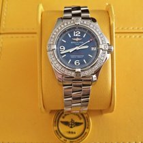 Breitling Colt Oceane Steel 33mm Blue No numerals United States of America, New Jersey, Edgewater