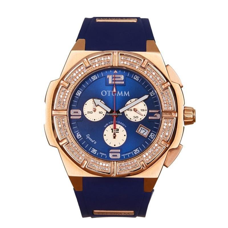 Otumm Diamond Speed II Rose Gold Blue