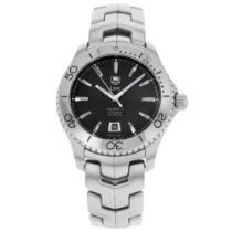 TAG Heuer Link Calibre 5 Steel 44mm Black No numerals United States of America, New York, NYC