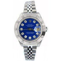 Rolex Datejust Lady's Stainless Steel Jubilee Band Model 79160...