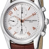 Frederique Constant Runabout Chronograph Steel Silver United States of America, New York, Brooklyn