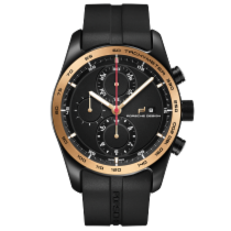 Porsche Design Chronotimer Series 1 Sportive Black & Gold