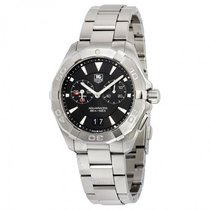 TAG Heuer Aquaracer 300M WAY111Z.BA0928 - TAG HEUER Black Dial and Steel Case new