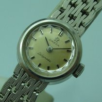 Omega Ladymatic Cal. 661 Miniature 17.5 mm 18k White Gold