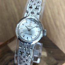 Omega De Ville Ladymatic occasion 17mm Argent or blanc