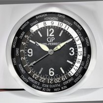 Girard Perregaux | A Stainless Steel World Time Wall Clock