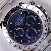 Rolex Daytona Cosmograph 116520 Stainless Steel 40mm Watch-Blu...