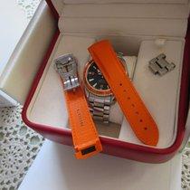 Omega Kautschukband Seamaster Planet Ocean  orange 20mm