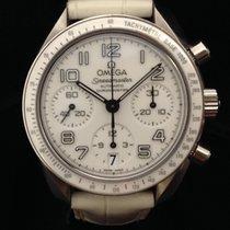 Omega Speedmaster White 3304  Scatola  e  Garanzia  Omega
