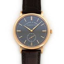 A. Lange & Söhne Rose Gold Saxonia Watch Ref. 216.033