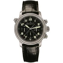 Blancpain Léman Fly-Back Steel 40mm Black Arabic numerals United States of America, New York, NEW YORK