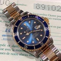 Rolex Submariner Date - 16803 - Faded Denim Dial - FULL SET 1985