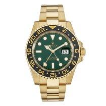 ロレックス (Rolex) GMT-Master II 18K Yellow Gold Green Dial 116718
